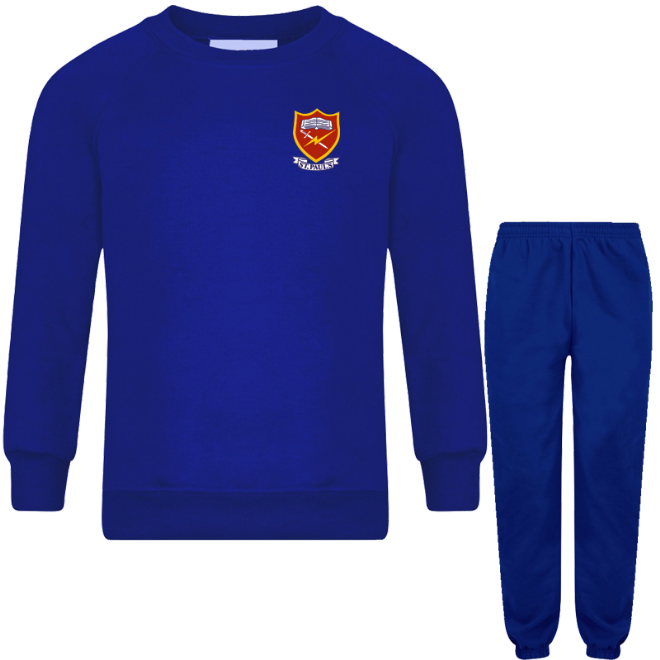 St. Paul's Full PE Tracksuit (2 PC SET)